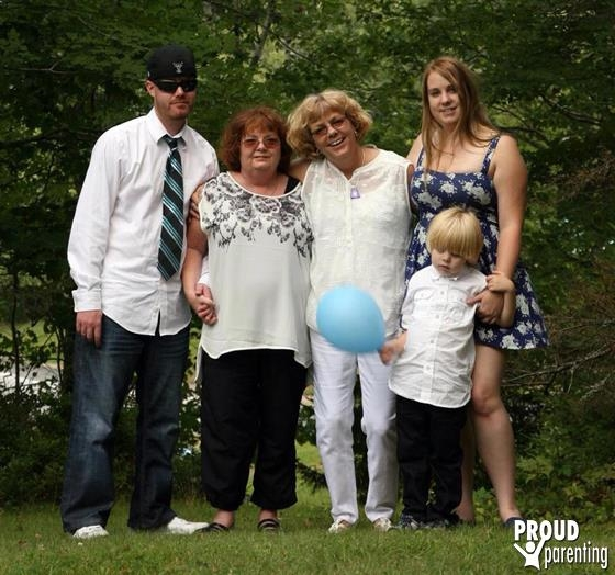 Proud Moms!