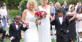 Salt Lake City Mayor Jackie Biskupski marries her partner, Better Iverson
