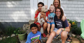 Single mom adopts 6 kids from foster care