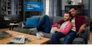 IKEA features gay interracial couple in new 'American Dream' campaign