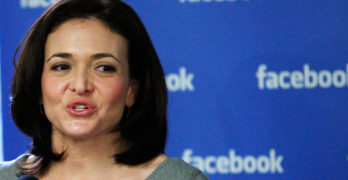 Facebook executive sees the world 'telling little girls not to lead'