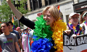 Sen. Elizabeth Warren wants married same-sex couples eligible for DOMA-related tax refunds