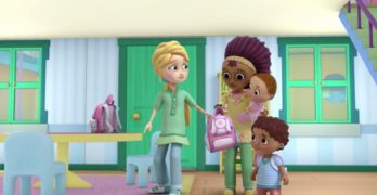 Disney Channel breaks new ground by featuring two moms in Doc McStuffins