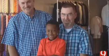 Oklahoma dads file federal lawsuit after family home is burned to the ground