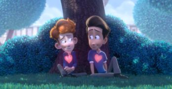 An animated short film about a young boy's crush will make your day