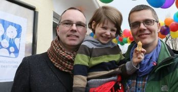 Gay married couple jointly adopts child in another first for Germany