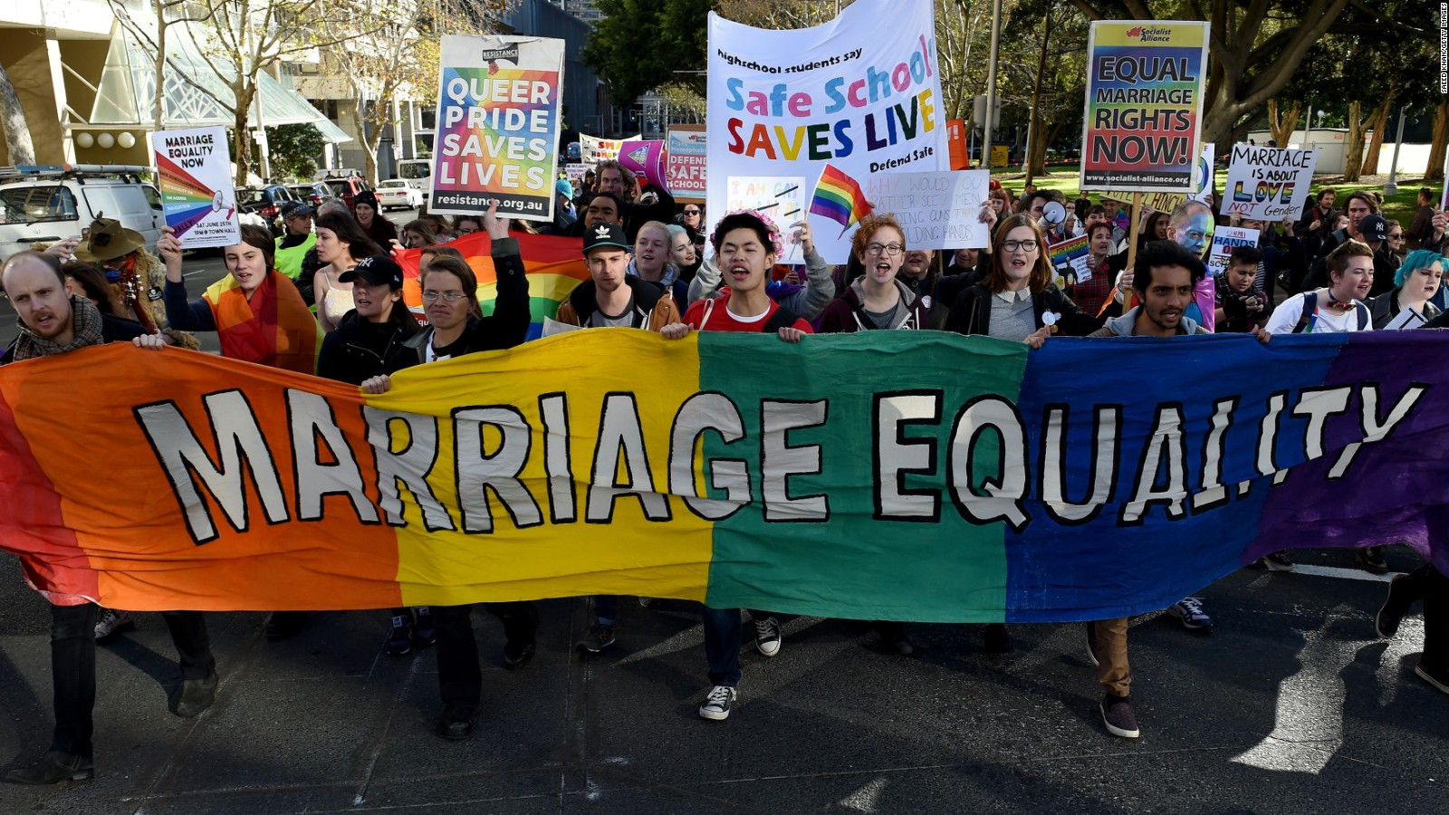 Marriage rights for same sex couples