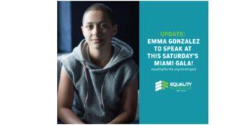 Equality Florida to honor Marjory Stoneman Douglas student leader