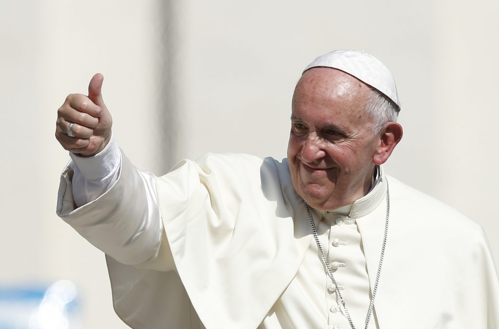 Pope Francis: God makes us gay - Proud Parenting